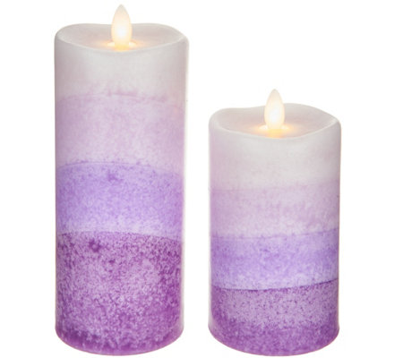 S/2 Mirage Flameless Candles by Candle Impressions