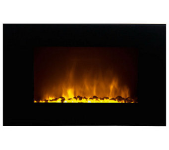 Warm House Oslo Wall LED Fireplace with Color Flame Effect - H281881