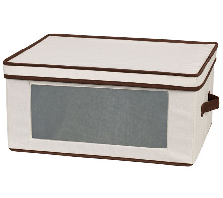 Household Essentials Stemware Storage Chest - Goblets