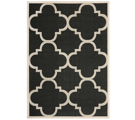 "Safavieh 5'3"" x 7'7"" Moroccan Tile Indoor/Outdoor Rug"