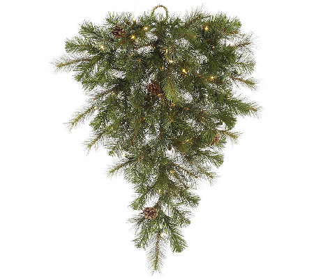 "32"" Prelit Modesto Mixed Pine Teardrop by Vickerman"