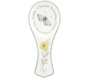 Lenox Butterfly Meadow Sentiment Spoon Rest - H288481