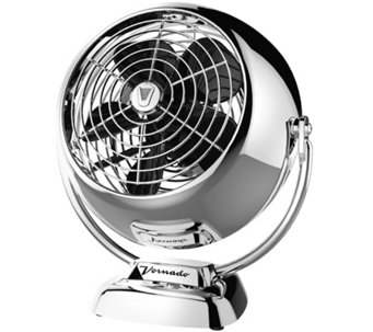 Vornado VFan Jr. Compact Vintage-Style Circulator Fan, Chrome - H289181