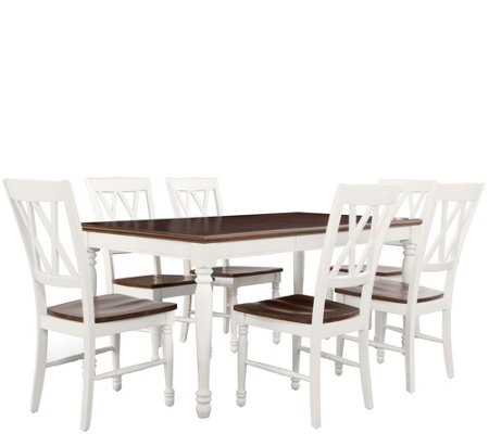 Crosley Shelby 7-Piece Dining Set