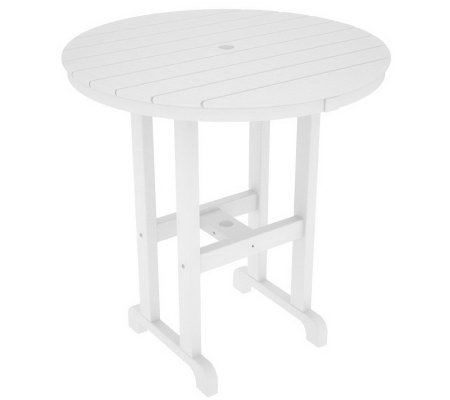 "POLYWOOD Traditional Round 36"" Counter Table"