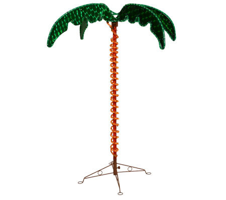 4-1/2' LED Rope Light Palm Tree by Vickerman