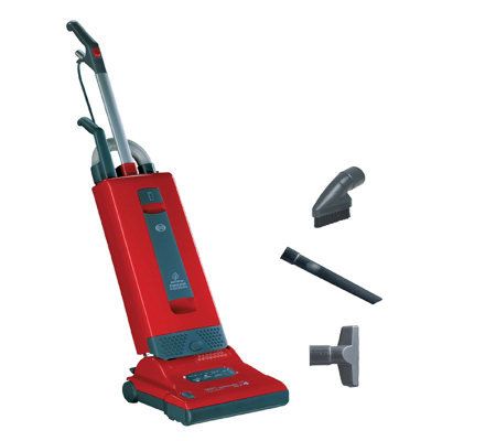 Sebo Automatic X4 Vacuum Cleaner - Red/Dark Gray