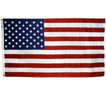 Annin United States Tough-Tex Flag with Grommets 3' x 5' - H368281