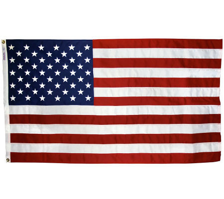 Annin United States Tough-Tex Flag with Grommets 3' x 5'