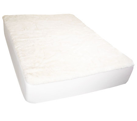 Sealy Posturepedic Wool Fleece Queen Mattress Pad — QVC