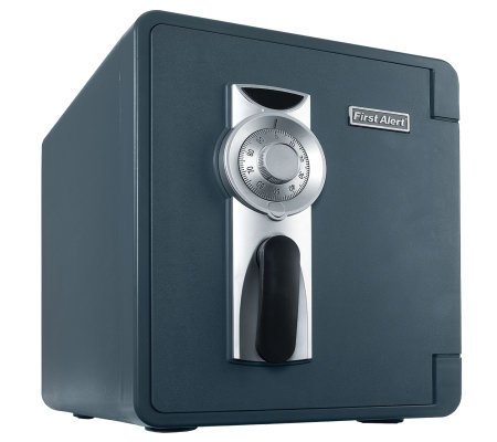 First Alert  0.87 cu ft  Waterproof Fire Safe