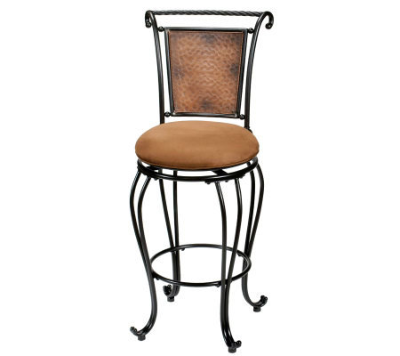 Hillsdale Furniture Milan Swivel Counter Stool
