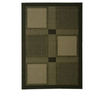 "Safavieh Courtyard Checkmate 4' x 5'7"" Rug - H178982"