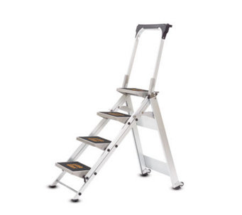 Little Giant Four-Step Safety Step Ladder - H184982