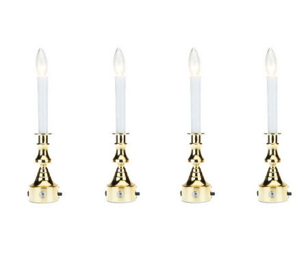 bethlehem lighting. bethlehem lights set4 plugin window candles with timer lighting