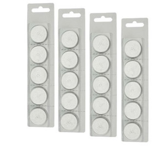 Candle Impressions Set of 20 CR2450 Batteries - H200782