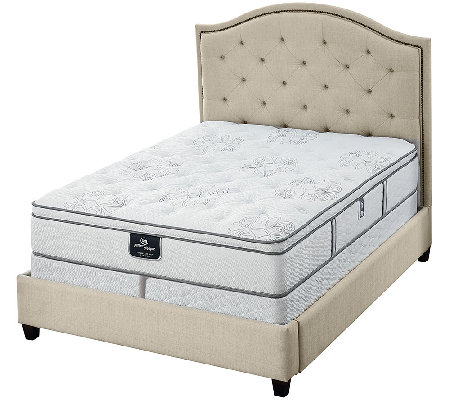 "Serta Perfect Sleeper Private Luxury 12.5"" EuroTop CK Mattress Set"