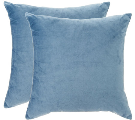 "Sure Fit Plush Comfort (2) 18"" x 18"" Decorative Pillows"