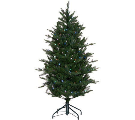 """As Is"" Santa's Best 5' RGB 2.0 Green Balsam Fir Christmas Tree"