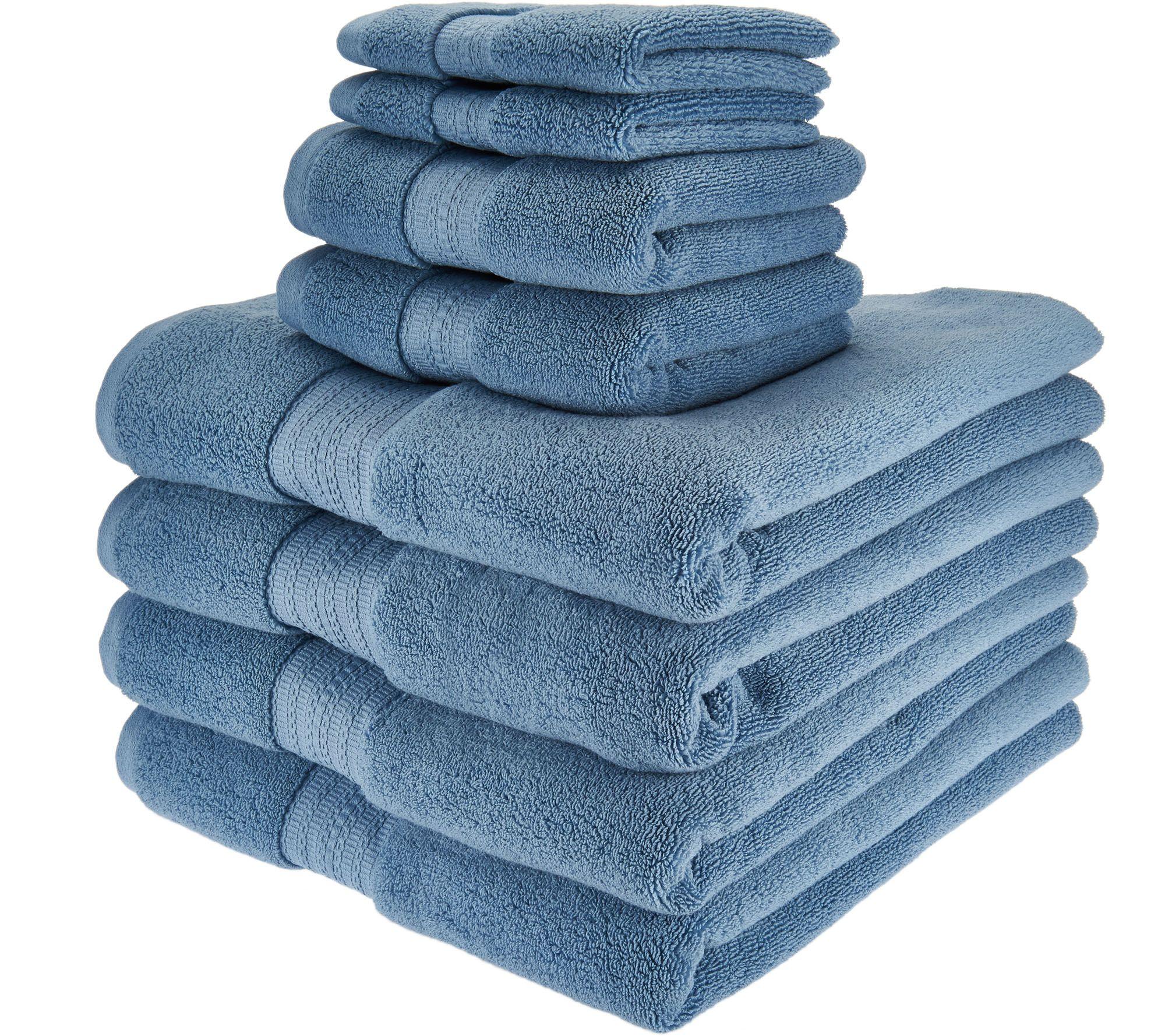 Northern Nights 8 Piece Luxury 100 Cotton Generous Size Bath