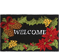 "Nourison 20""x32"" Hand-Hooked Seasonal Accent Rug - H212082"
