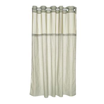 Hookless Luxe Stripe 3- in- 1 Shower Curtain