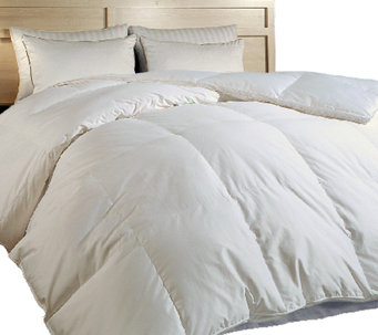 Blue Ridge Luxury 700TC Hungarian Goose Down TWComforter - H285282