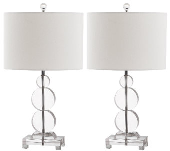 Set of 2 Moira Crystal Table Lamps by Safavieh - H285382