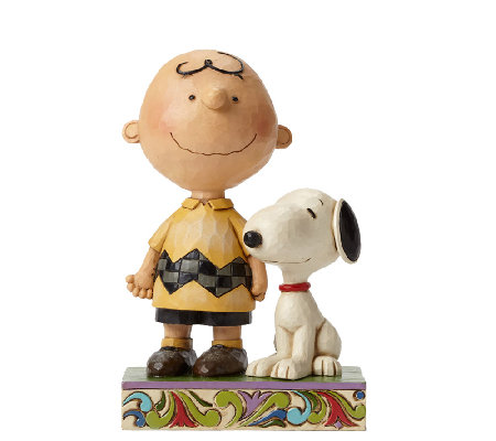 Jim Shore Heartwood Creek Friendship Charlie Brown Figurine