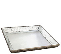 "20"" Square Mirrored Tray by Valerie - H290482"