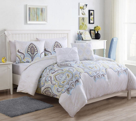 VCNY Home Shazia 4-Piece Twin XL Comforter Set