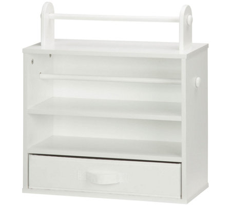 Honey-Can-Do White Craft Storage Unit