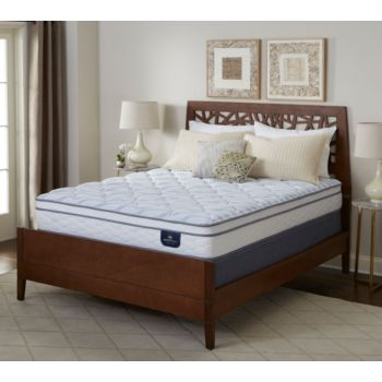 Serta Perfect Sleeper Carmine Euro Top King Mattress Set