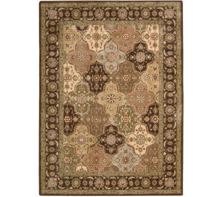 "Nourison Atlas 2'3"" x 8' Persian Panel Machine-Made Rug"