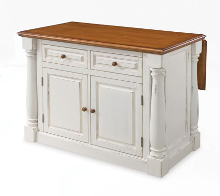 Home Styles Monarch Kitchen Island Qvc