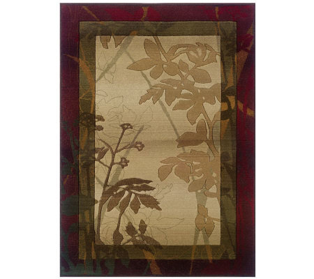 "Garden Window 7'10"" x 11' Rug by Oriental Weavers"