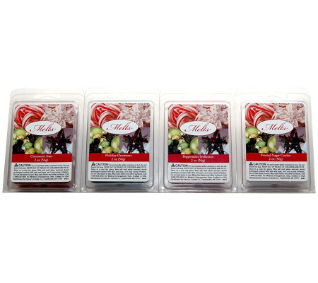 Holiday Wax Melts 4-Pack by Valerie