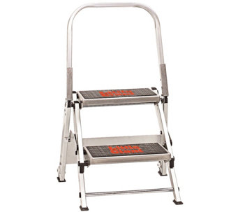 Little Giant Safety 2-Step Ladder 300-lb Capacity - H139283