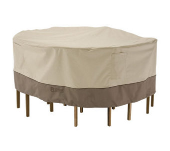 Veranda Round Table/Chair Cover-Lrg-by ClassicAccessories - H149383