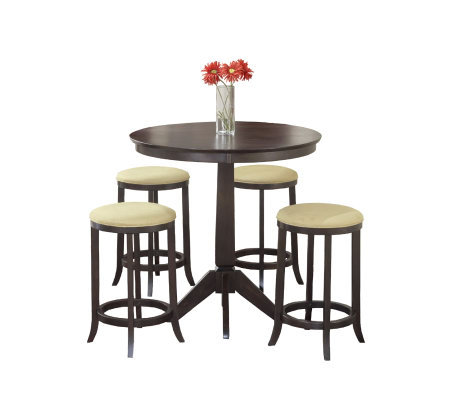 Hillsdale Furniture Tiburon 5-Piece Pub Table Set