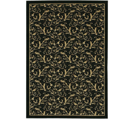 "Couristan 7'10"" x 11'2"" Everest Royal Scroll Rug"