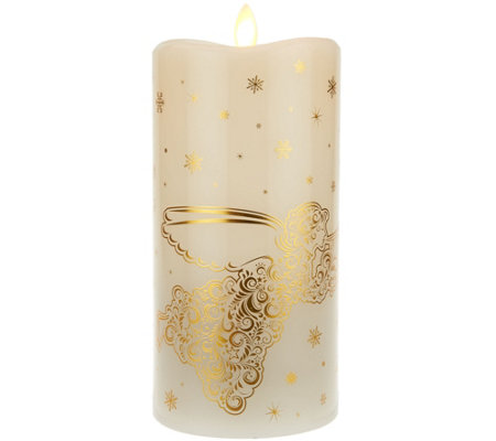 "7.5"" Mirage Gold Holiday Motif Candle by Candle Impressions"