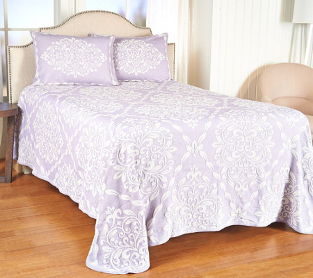 """As Is"" Westminster Jacquard Bedspread with Lattice"