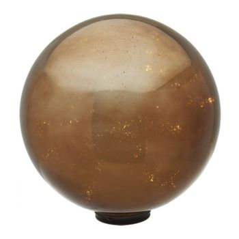 12 Oversized Illuminated Mercury Glass Harvest Sphere by Valerie