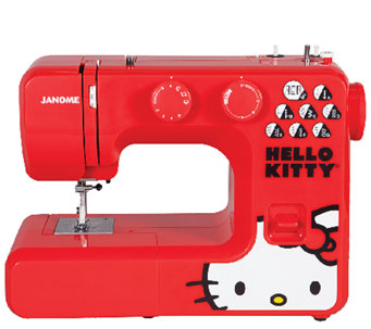 Janome 13512 Red Hello Kitty Sewing Machine - H287083