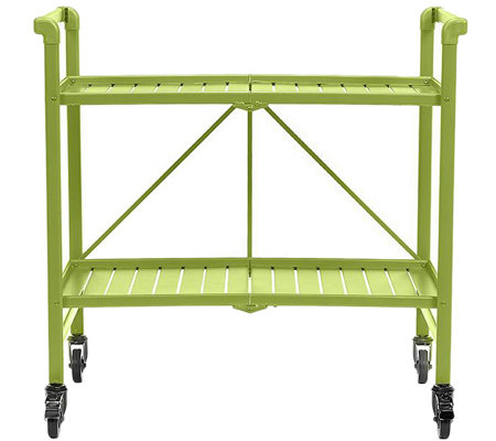 Outdoor Folding Serving Cart