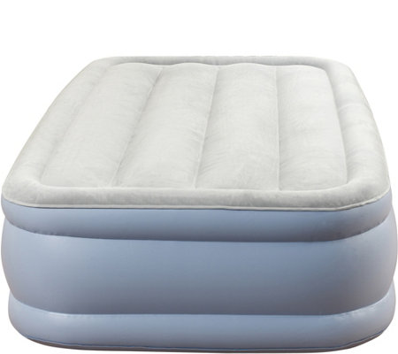 "Beautyrest Twin 15"" Raised Adjustable Air Bed Mattress"