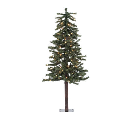 48 Prelit Natural Alpine Tree w/ Clear Lights by Vickerman