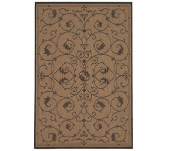 "Couristan Recife Veranda Indoor/Outdoor 5'3"" x7'6"" Rug - H175084"