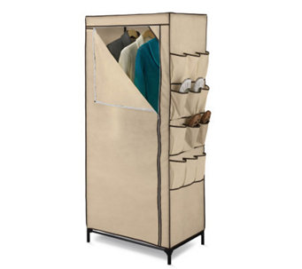 "Honey-Can-Do 27"" Storage Closet With Shoe Organizer - H184084"